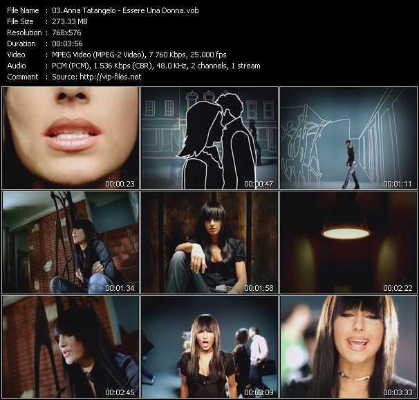 Anna Tatangelo video screenshot