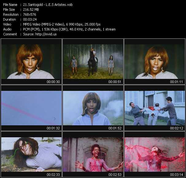 Santigold (Santogold) video screenshot