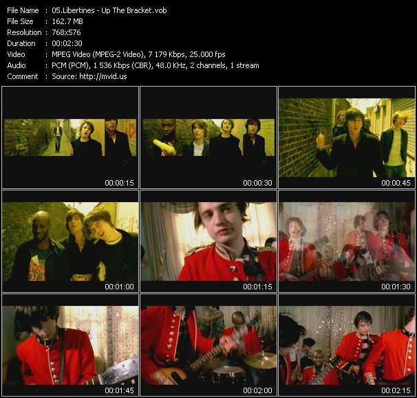 Libertines video screenshot