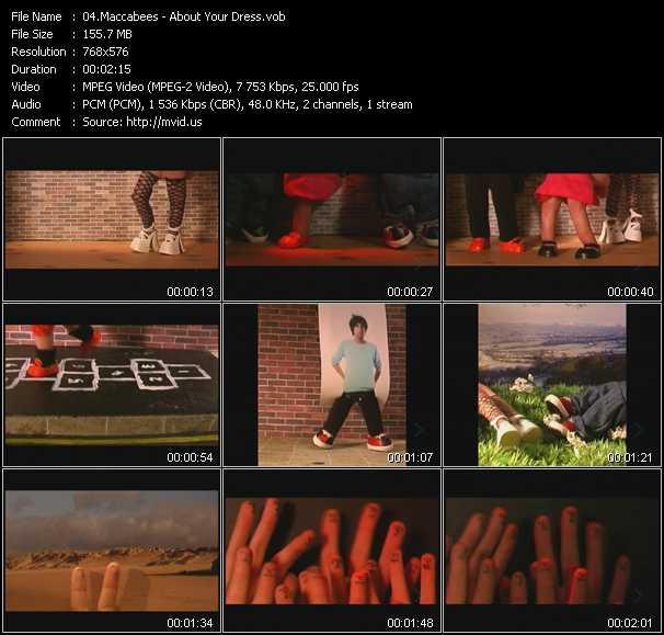 Maccabees video screenshot