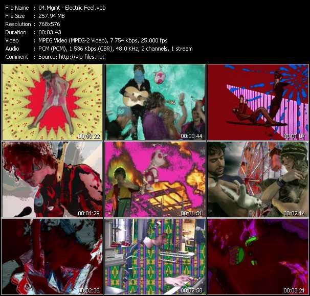 Mgmt video screenshot