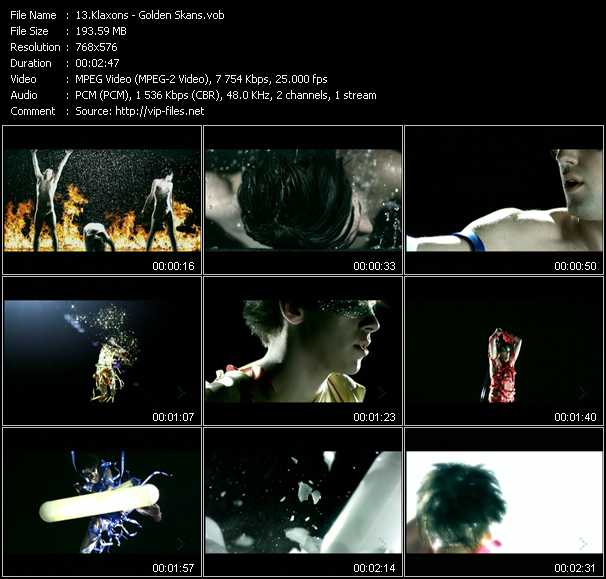 video Golden Skans screen