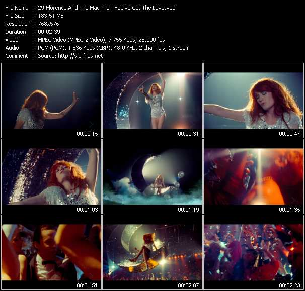 Florence And The Machine video screenshot