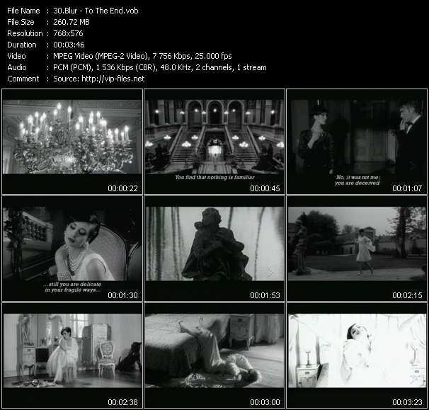 Blur video screenshot