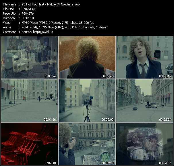 Hot Hot Heat video screenshot