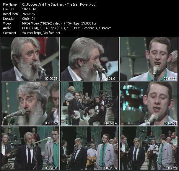 Pogues And The Dubliners video screenshot