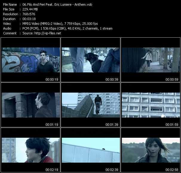 Filo And Peri Feat. Eric Lumiere video screenshot