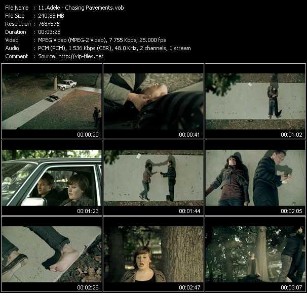 Adele video screenshot