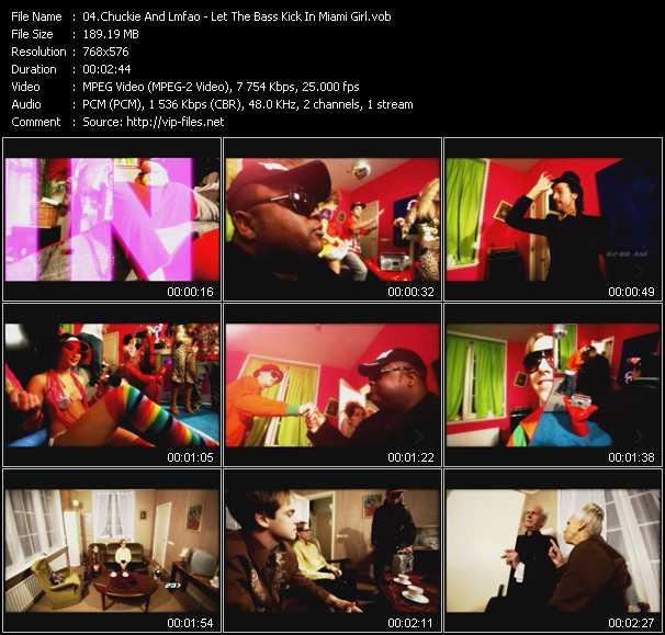 Chuckie And Lmfao video screenshot