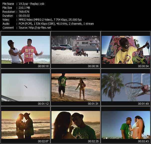 Iyaz video screenshot
