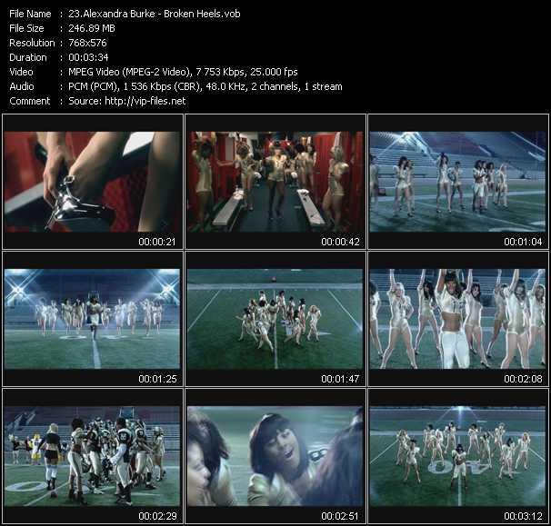 video Broken Heels screen