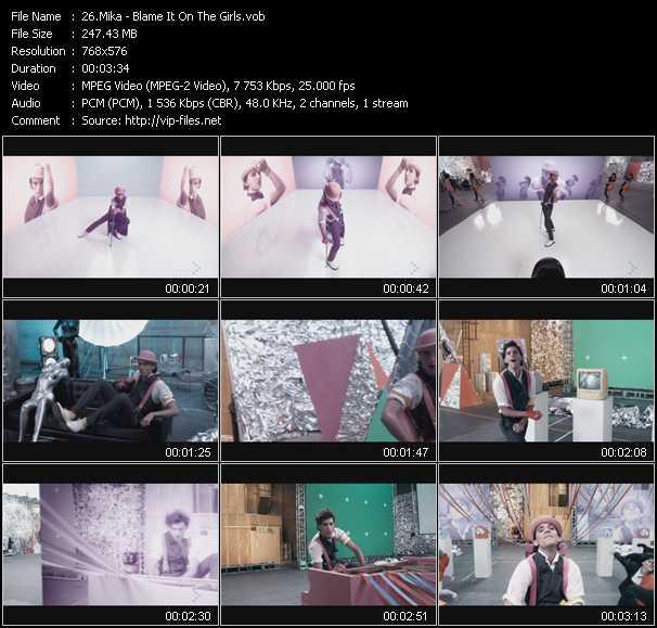 Mika video screenshot