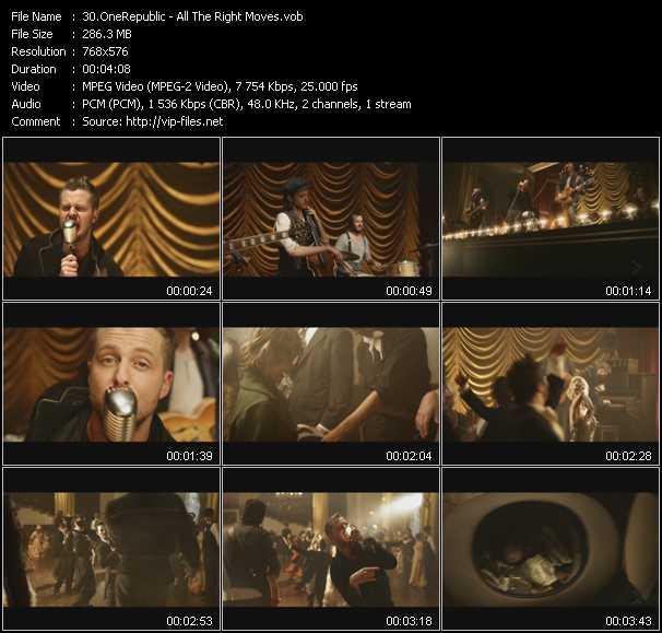 OneRepublic video screenshot