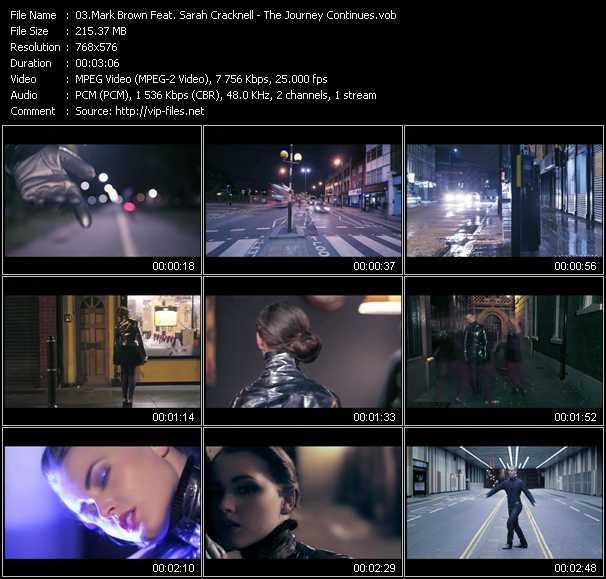Mark Brown Feat. Sarah Cracknell video screenshot