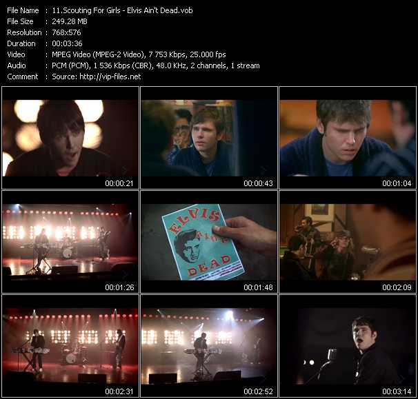 Scouting For Girls video screenshot