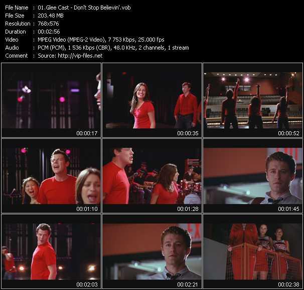Glee Cast video screenshot