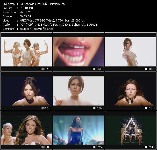 Gabriella Cilmi video screenshot