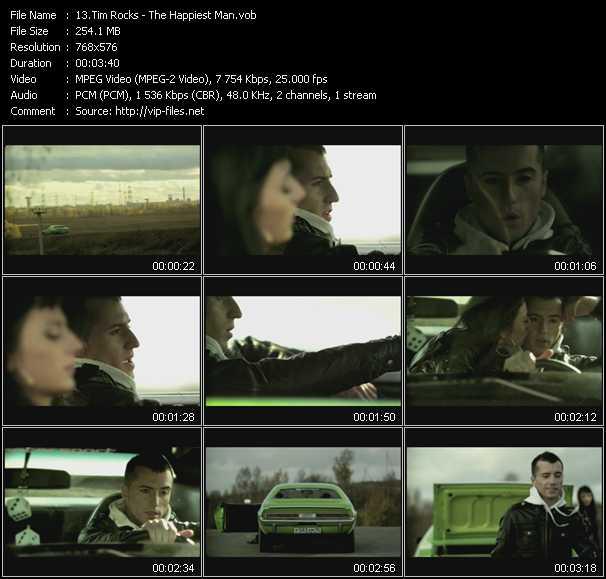 Tim Rocks video screenshot