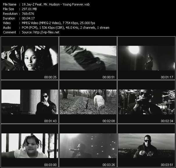 Jay-Z Feat. Mr. Hudson video screenshot