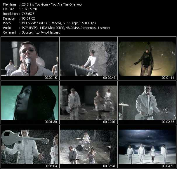 Shiny Toy Guns video screenshot