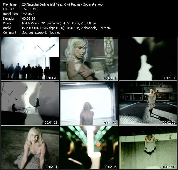 Natasha Bedingfield Feat. Cyril Paulus video screenshot