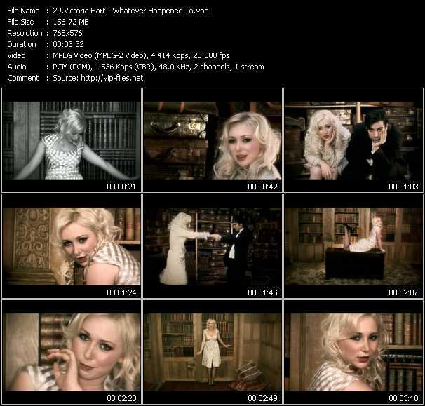 Victoria Hart video screenshot