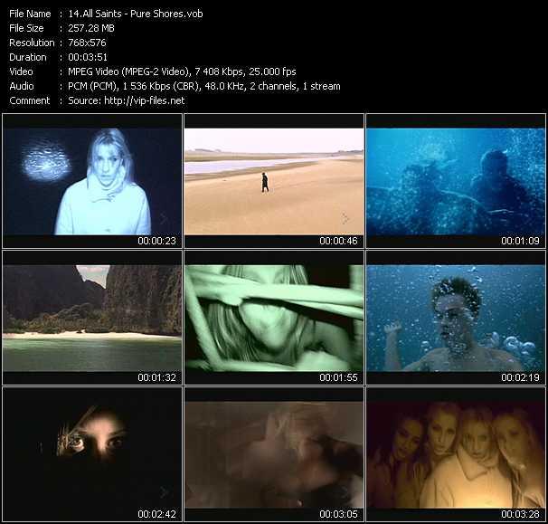 All Saints video screenshot