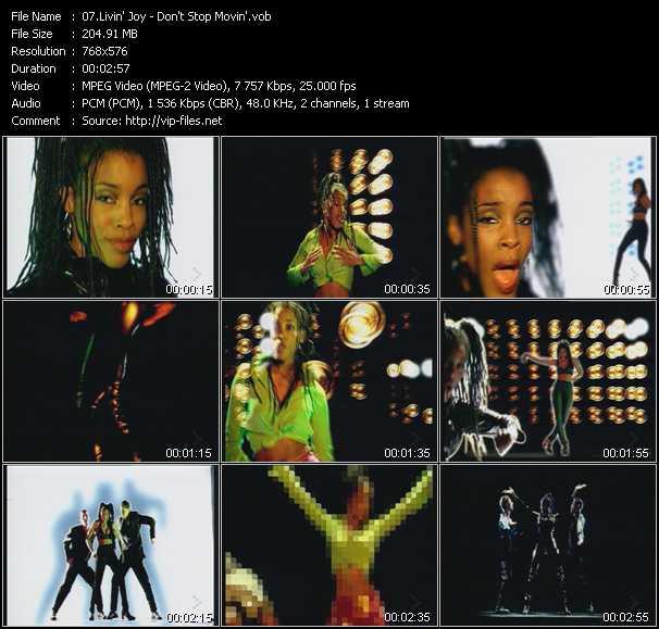 Livin' Joy video screenshot