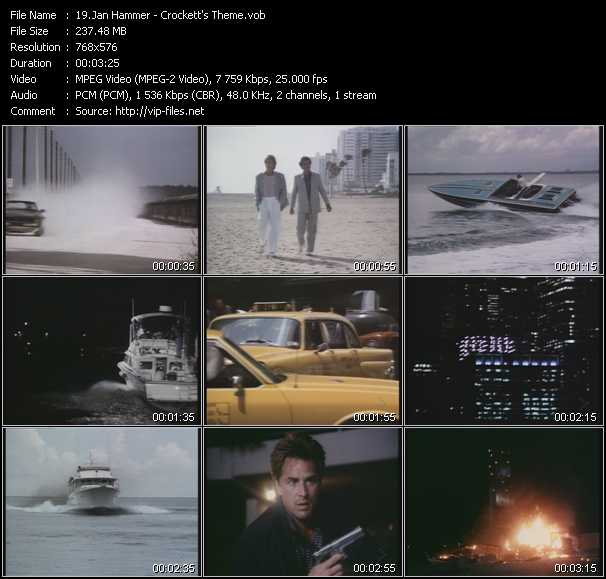 Jan Hammer video screenshot