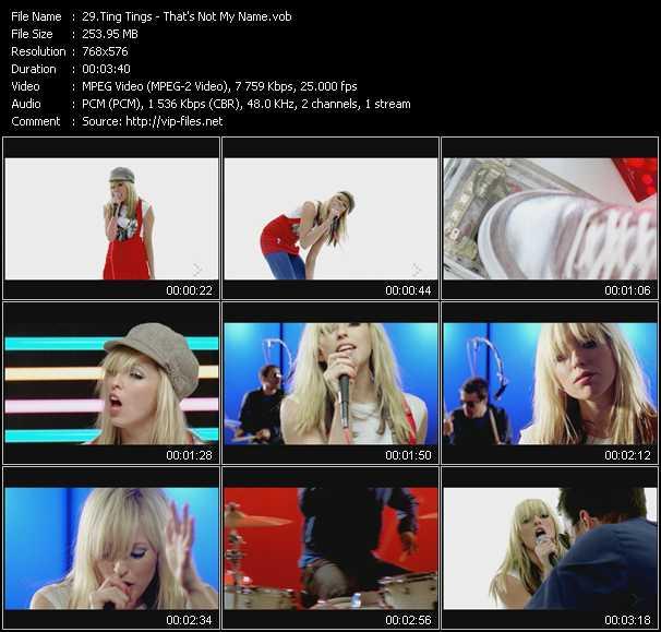 Ting Tings video screenshot