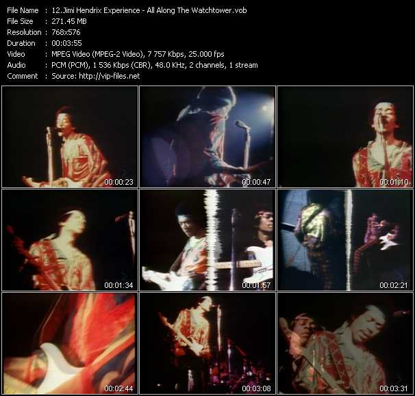 Jimi Hendrix Experience video screenshot