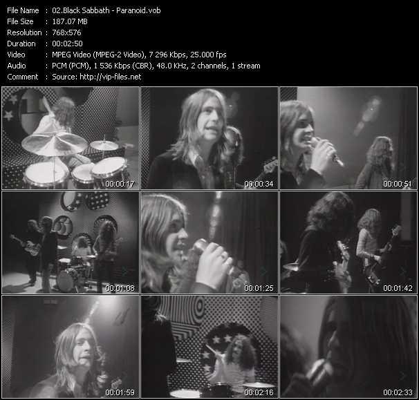 Black Sabbath video screenshot