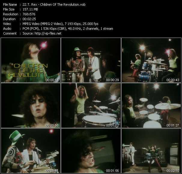 T. Rex video screenshot