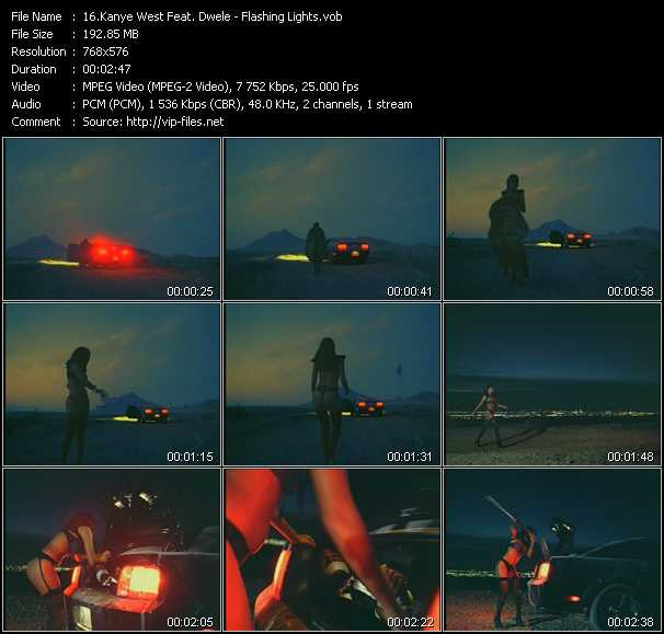 Kanye West Feat. Dwele video screenshot