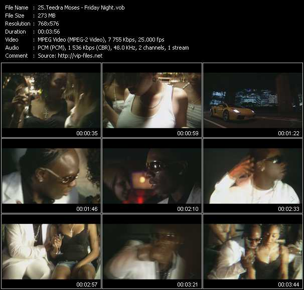 Teedra Moses video screenshot