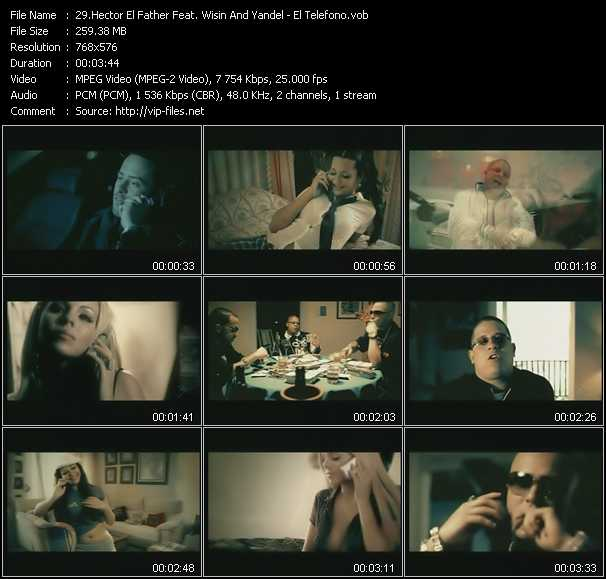 Hector El Father Feat. Wisin And Yandel video screenshot