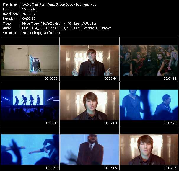 Big Time Rush Feat. Snoop Dogg video screenshot