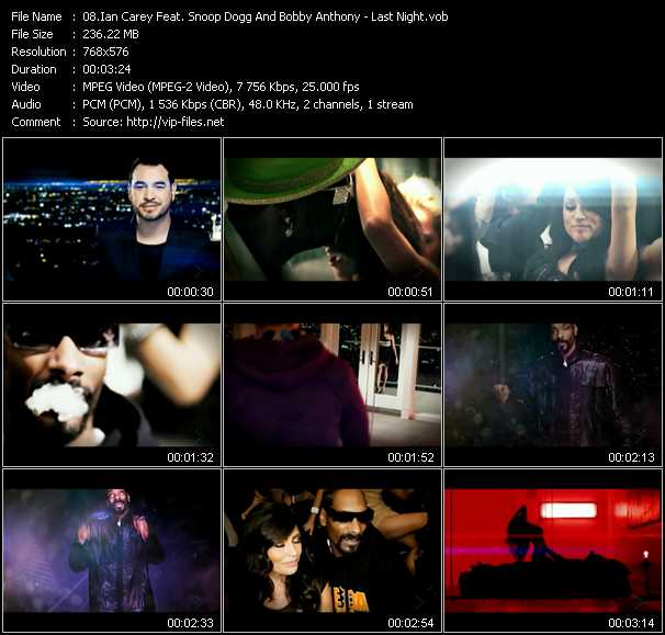 Ian Carey Feat. Snoop Dogg And Bobby Anthony video screenshot