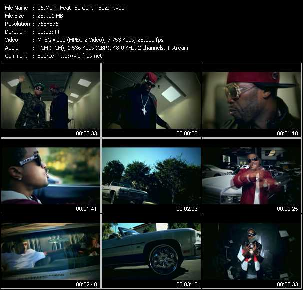 Mann Feat. 50 Cent video screenshot