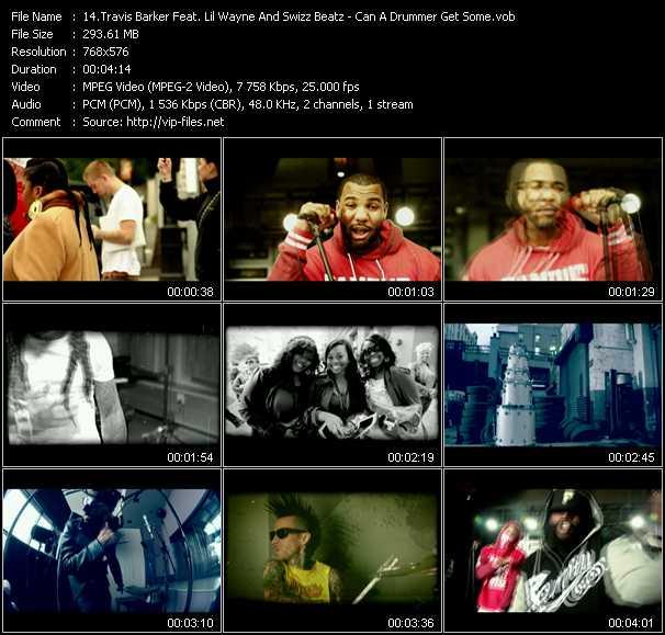 Travis Barker Feat. Lil' Wayne And Swizz Beatz video screenshot
