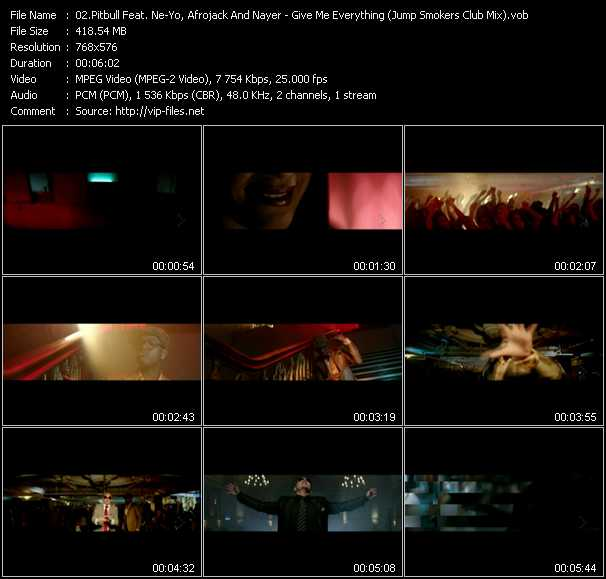 Pitbull Feat. Ne-Yo, Afrojack And Nayer video screenshot