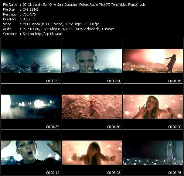 Oh Land video screenshot
