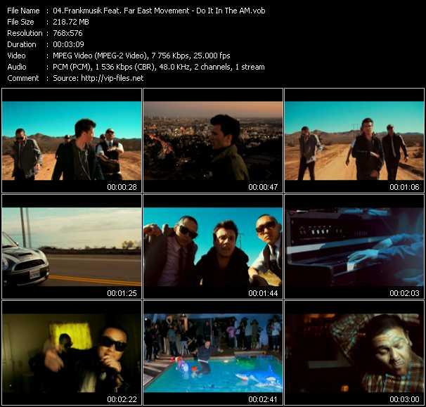 FrankMusik Feat. Far East Movement video screenshot