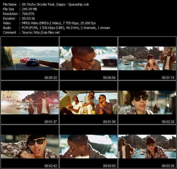 Tinchy Stryder Feat. Dappy video screenshot