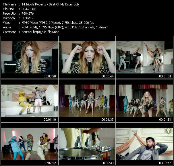 Nicola Roberts video screenshot
