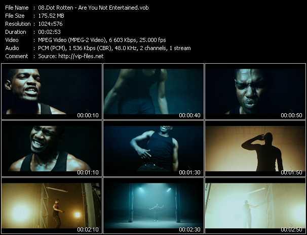 Dot Rotten video screenshot
