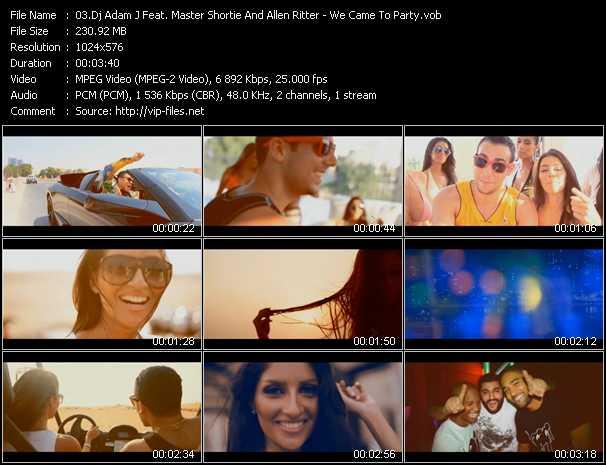 Dj Adam J Feat. Master Shortie And Allen Ritter video screenshot