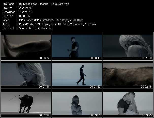 video Take Care screen