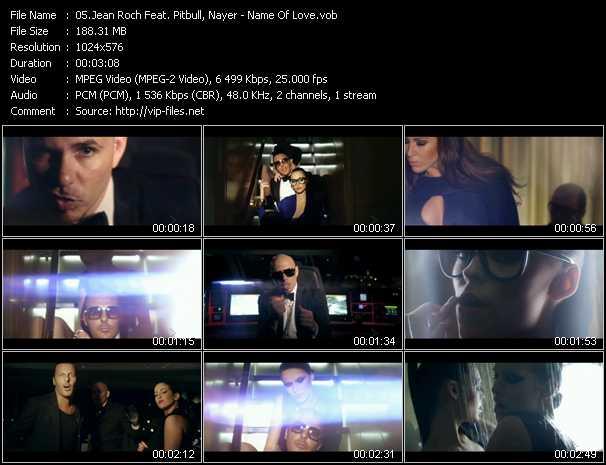 Jean Roch Feat. Pitbull, Nayer video screenshot