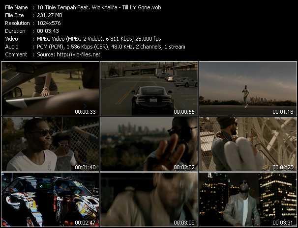 Tinie Tempah Feat. Wiz Khalifa video screenshot